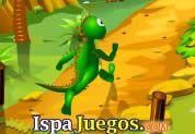 Juego de Dragoniada | JUEGOS GRATIS: Un huevo dragón a ciado del nido y tienes que ayudarlo a regresar con la Mamá dragona, pero en el transcurso del camino encontrara una variedad de obstáculos y de animales peligrosos, has lo posible para regresar acumulando estrellas