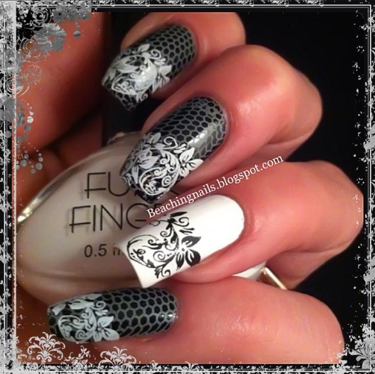 1308 best Stamping nailart 1 images on Pinterest | Stamping nail art ...