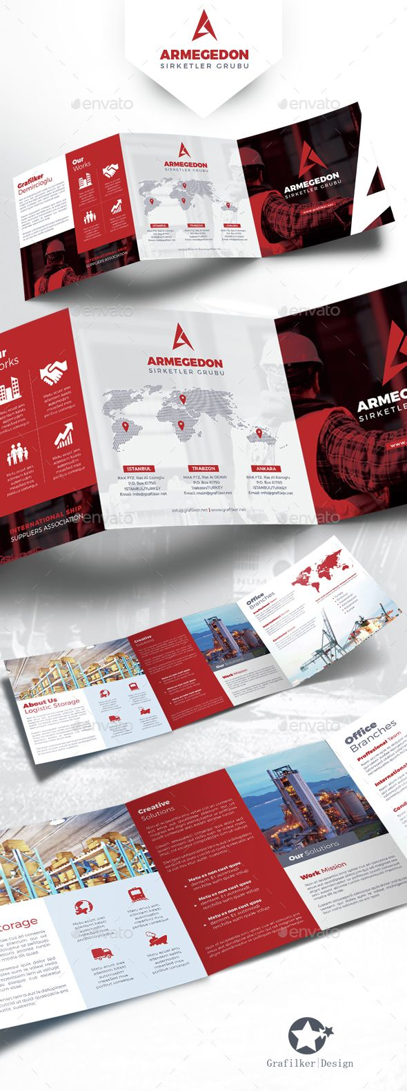 International Square Tri-Fold Brochure Template PSD, InDesign INDD. Download here: http://graphicriver.net/item/international-square-trifold-brochure-templates/14631913?ref=ksioks