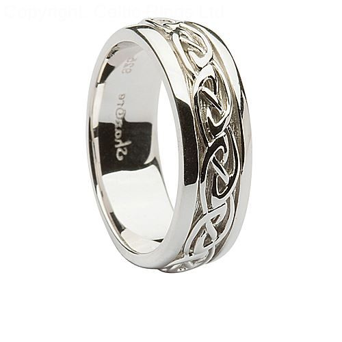 Fabulous nice Mens Silver Wedding Rings A Good Replacement of Gold