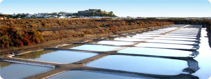 Spa Salino in Castro Marim near Tafira. água mãe - produtos de sal marinho tradicional Mineral Salt Spa