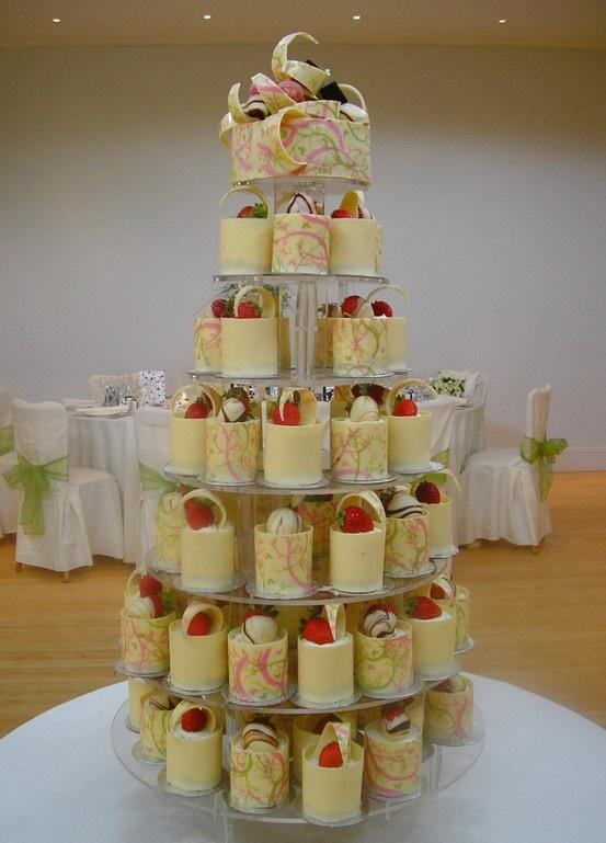 mini cheesecake wedding cake if you wanted rustic wedding