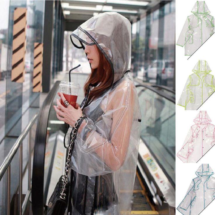Alibaba グループ | AliExpress.comの レインコート からの 商品説明女性透明なレインコート明確な雨の女の子のフード付きポンチョコート防水ジャケットトップス特徴:状態: ブランドの新しい袖の長さ: フルOcasion: 雨の日利用できる色: 画像などのショーサイズ: ワンサイズフィット: 女性のほとん 中の 屋外pvc透明大人の防水レインコート の ため の女性と男性ポンチョ自転車オートバイ レインウェア卸売