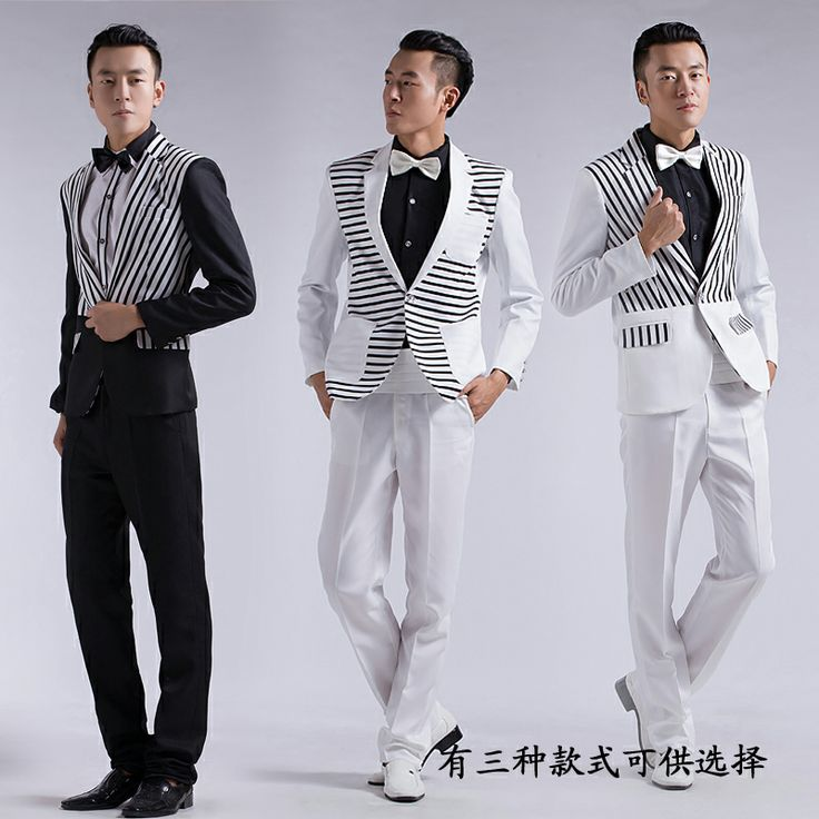 sposo costume   abiti sposo 2014 striscia nera abiti da cerimonia abiti formali per ...