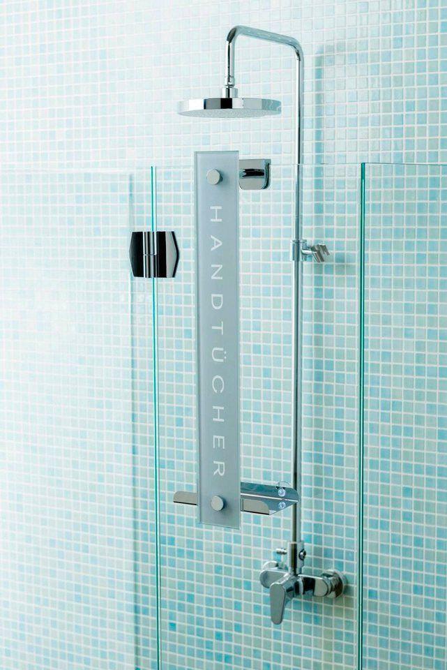 Handtuchhalter Dusche Einh?ngen : Handtuchhalter ?Cornat Design? f?r 49,99?. Zur Wandmontage und