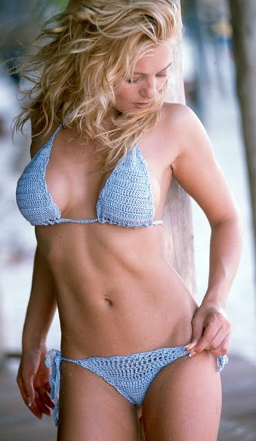 Crochet patterns: Free Chart for Crochet Bikini Swimsuit - 2 Bikini Models http://crochetpatternstotry.blogspot.com/2013/06/free-chart-for-crochetb-bikini-swimsuit.html