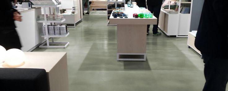 Marlith beton look gietvloer - Marlin Contract
