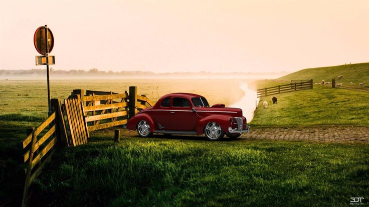 Ford DeLuxeCoupe 1940 3DTuning