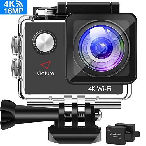 Crosstour 4K 16MP Sport Action Camera Ultra HD Camcorder WiFi Waterproof Came...