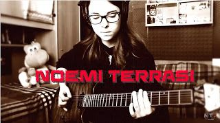 Noemi Terrasi: Enter Sandman   Metallica   Guitar Cover     Here's my cover of this masterpiece. Do your request for others video like this! Don't forget to subscribe if you like it! :) ---------------------------------------- Live recording with my Focusrite Scarlett 2i2 one take for every guitar. I used my Schecter Banshee 6 Passive and my Schecter JL-7 copyright: Metallica and Audiam (Label) Per conto di: EMV Enter Sandman   Metallica   Guitar Cover   Noemi Terrasi