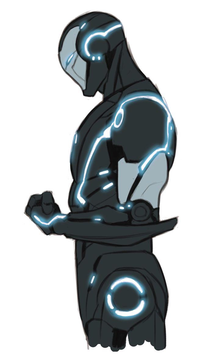 kristaferanka: Marvel Now stealth ironman <------------ Looks like Tony got into Tron.