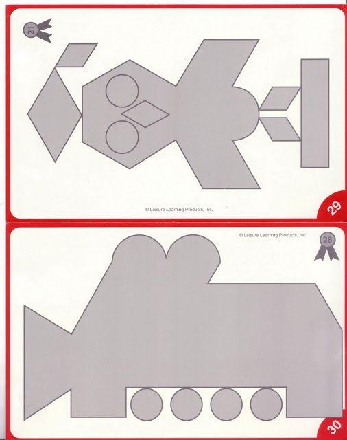 Mozaïek voor kleuters, leg de grijze figuren vol met de gekleurde mozaiëkstukjes of met plakkertjes