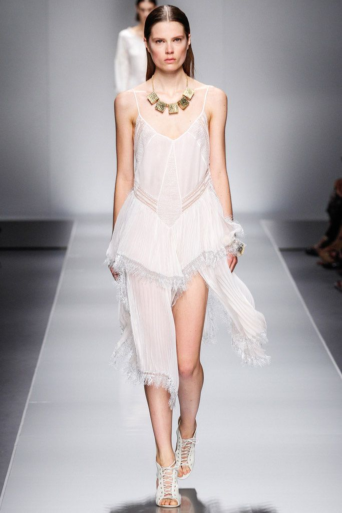 @Blumarine #catwalk #MFW #Milano #SS_2013 #white #trends #in