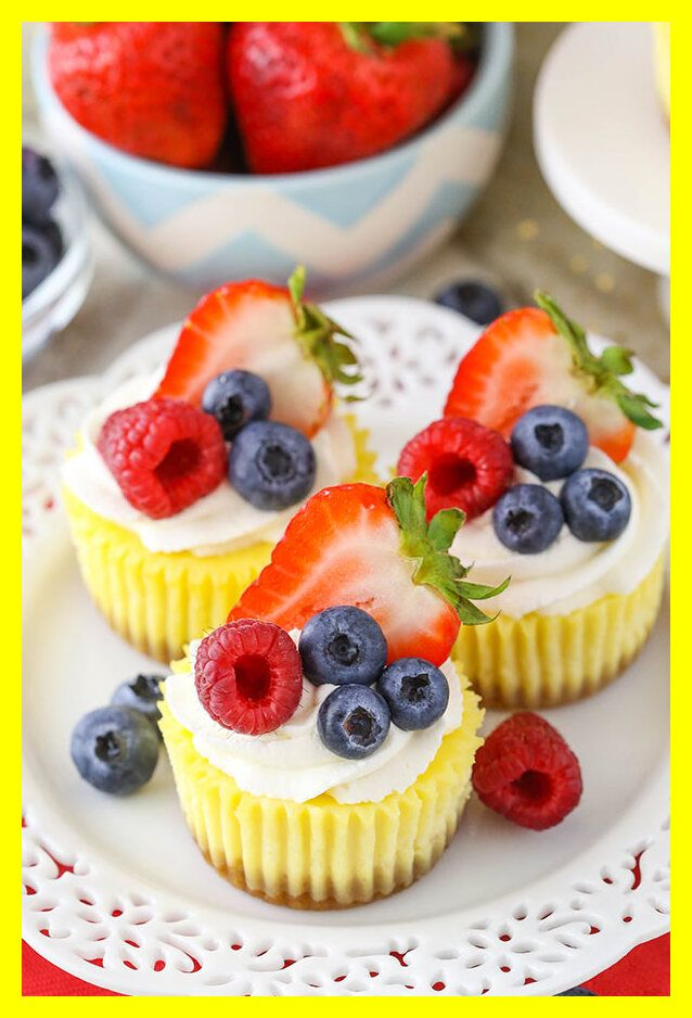 121 Reference Of Mini Cheesecake Recipe Without Sour Cream In 2020 Mini Cheesecakes Easy Mini Cheesecake Recipes Mini Cheesecakes