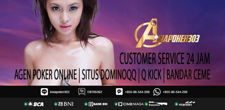 Asiapoker303 adalah Agen Adu Ceme Online Terpercaya di Indonesia sudah pasti terpercaya ini pasti masuk kedalam daftar agen domino terbaik