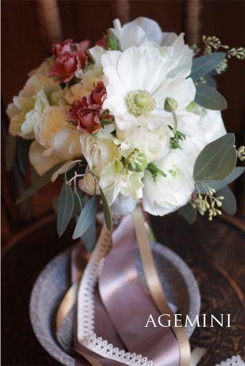 アネモネとラナンキュラスのブーケ | Anemonea and Persian buttercup bouquet | AGEMINI