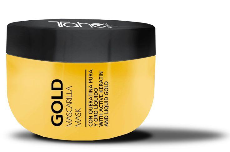 Keratin Gold Mask με ενεργή κερατίνη και υγρό χρυσό!