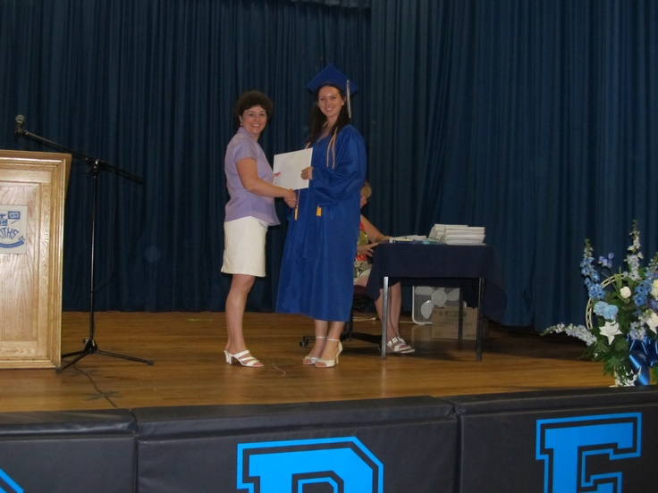 Graduated from High School, June 2012!