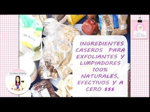 EXFOLIANTES, guarda estos Ingredientes y  crear tu propia linea de exfol...