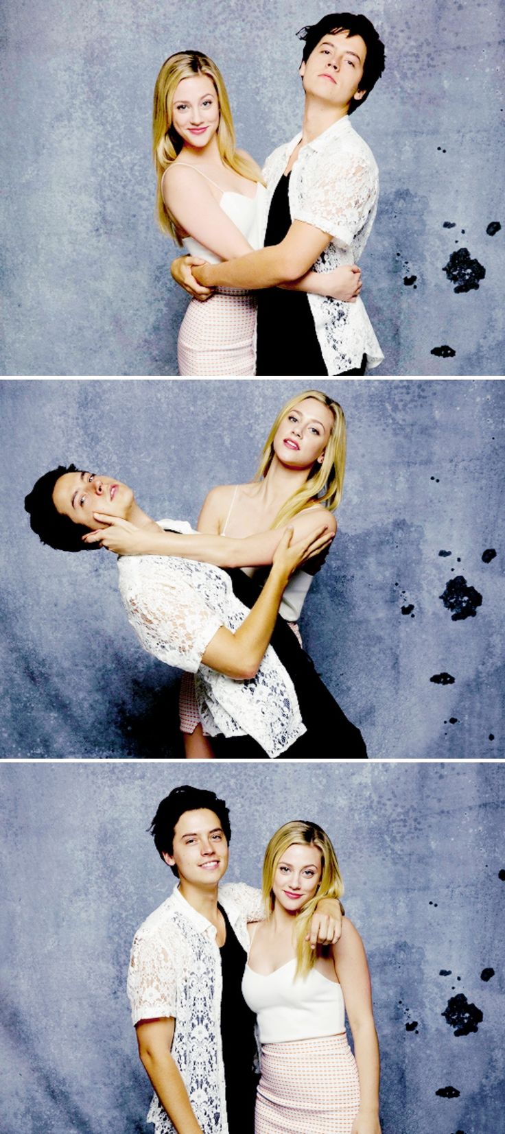 Cole Sprouse and Lili Reinhart photographed in the L.A. Times photo studio at Comic-Con 2017, in San Diego, CA on July 22, 2017