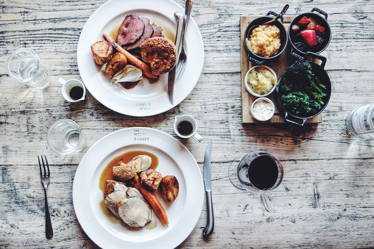 Image result for the wild rabbit pub food