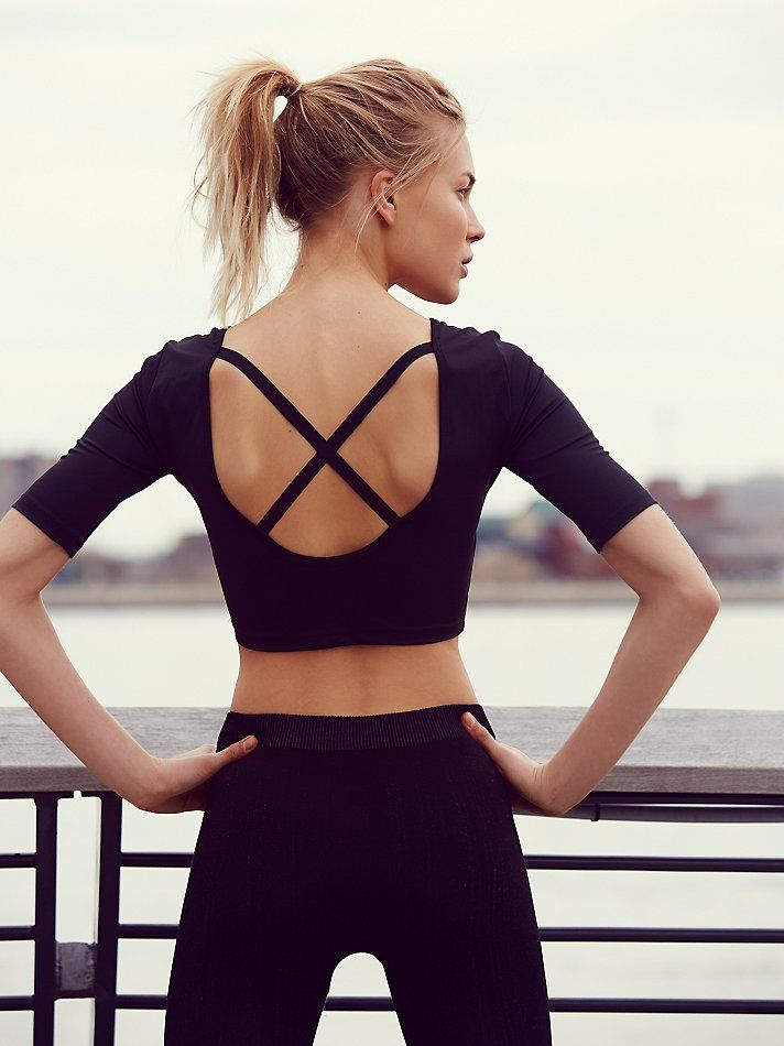 FP Movement + Onzie Ballerina Crop Top at Free People Clothing Boutique