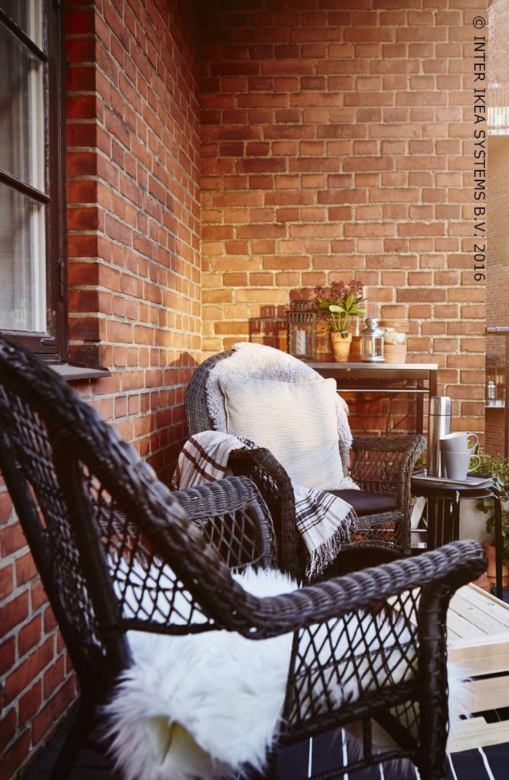 17 beste idee n over balkon decoratie op pinterest klein balkon klein balkon decor en kleine - Decoratie van een terras ...