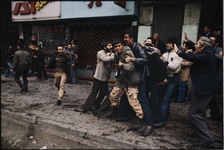 Within hours of arriving in Tehran, I was on the street, in the middle of a gun battle. I could tell this story would not soon go away. : 44 Days: the Iranian Revolution : David Burnett | Photographer