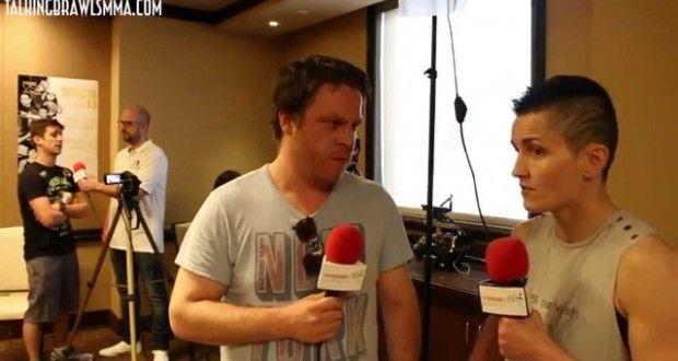 "Invicta FC 13's Catherine Costigan: ""It's Catherine Costigan's show."" | TalkingBrawlsMMA.com"