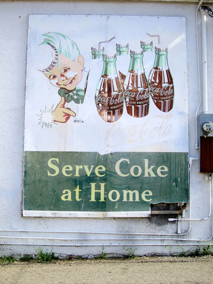 Serve Coke At Home
