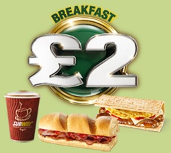 SUBWAY Restaurants UK - Eat Fresh | Menu | Breakfast Subs