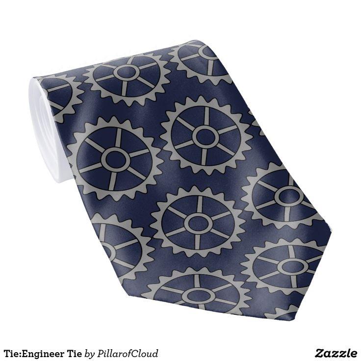 Tie:Engineer Tie