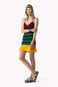 Shoppen Sie Gestreiftes Häkelkleid und erkunden Sie die Tommy Hilfiger Kleidung für Damen. Kostenlose Lieferung & Retouren. 8719111116389