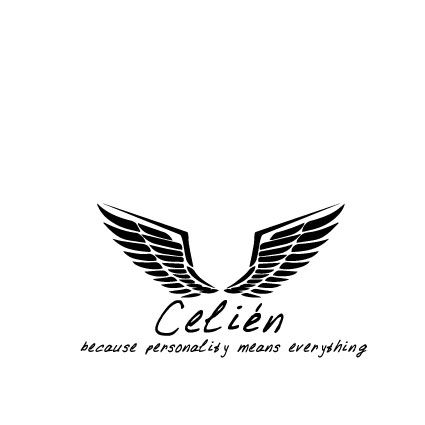 I made this logo for an assessment about your own fictive brand. This logo represents my brand 'Celien'. A fashion brand with a strong personality.