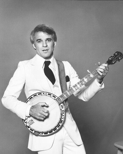 Steve Martin - Does anyone else see the irony in the coolest man on earth playing what is considered a less than cool instrument?? LOL