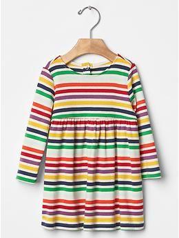 Multi-stripe dress | Gap