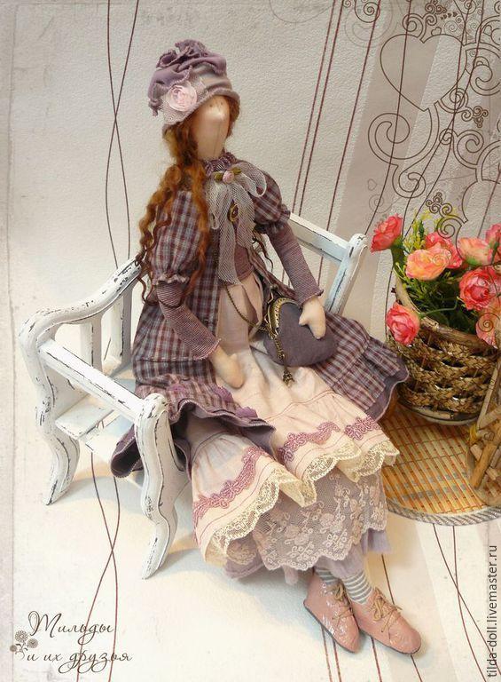Купить Кукла в стиле Бохо: Джейн ( Бохо Шик) - тильда, кукла Тильда