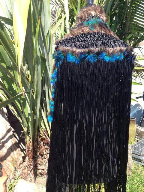 The Back of Beyonce's Korowai