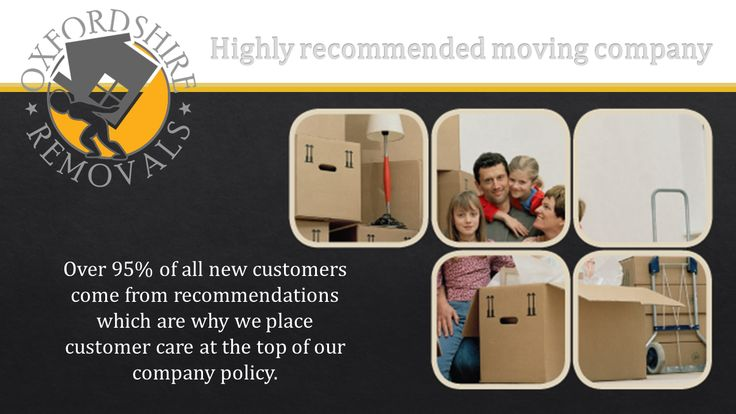 Highly recommended moving company Oxford Oxfordshire
