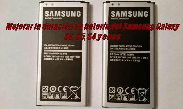 Mejorar la duración de batería del Samsung Galaxy S6,S5,S4 y otros sin ser root.En este artículo vamos a describir como calibrar las baterías de los Samsung