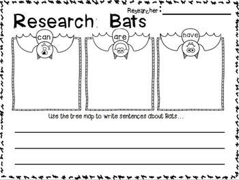 FREEBIE in the Download Preview!!!  Bats Mini Unit ~ Informational Text mini unit about bats for 1st-2nd Grade!!!  This packet is  CUTE! CUTE! CUTE!! and aligned to Common Core!!!! :o)