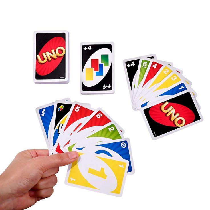 Uno Card Game, Card Games