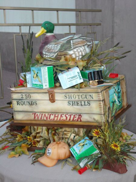 Hunting Theme Baby Shower | Duck Hunter Cake   407F   Cake Decorating  Community   Cakes