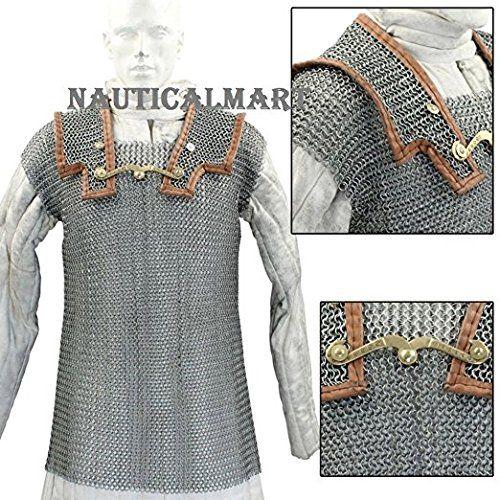 Lorica Hamata Roman Chainmail Armor Costume By Nauticalmart: Amazon.es: Juguetes y juegos
