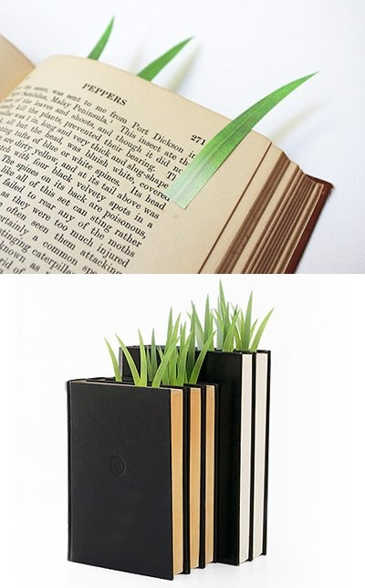 "bookmark love it!!!! Grow your ""book garden""!"