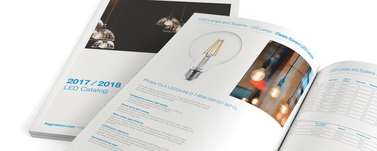 Information Intensive Catalog Template - Lamps & Led