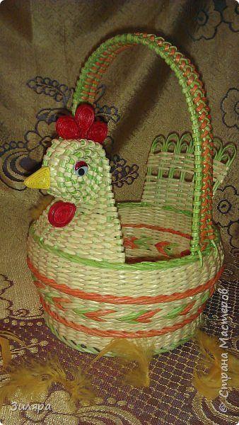 Поделка изделие Плетение много фото Трубочки бумажные фото 2