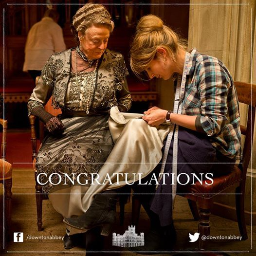 We are delighted to announce that Downton Abbey's Costume Designer Caroline McCall has won the BAFTA TV Craft award for costume design. Many congratulations from all at Downton Abbey!..