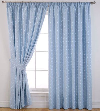 Dotty Ready Made Blackout Curtains