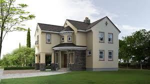 Resultado de imagen para casa techo de tejas pintada color beige